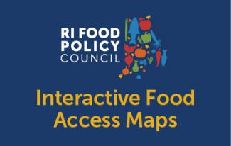 Interactive Food Access Maps logo